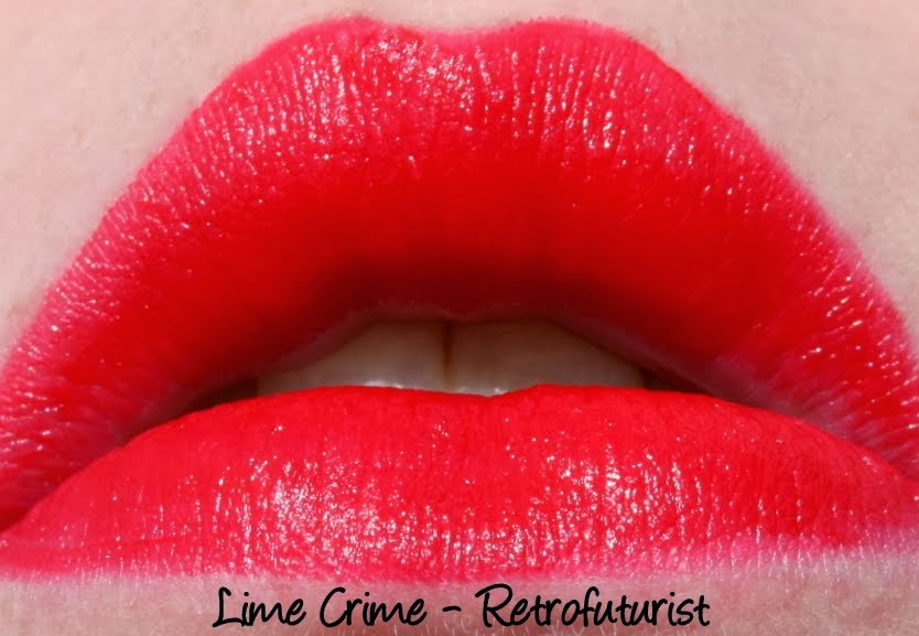 Lime Crime Retrofuturist Lipstick Swatch