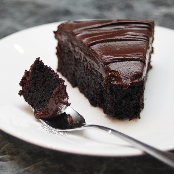 Dense Chocolate Mud Cake Recipe