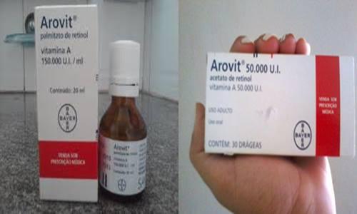 Arovit Gotas e Arovit Comprimidos
