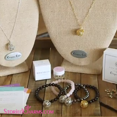 Lisa Hoffman Fragrance Bead Collection for Origami Owl available at StoriedCharms.com