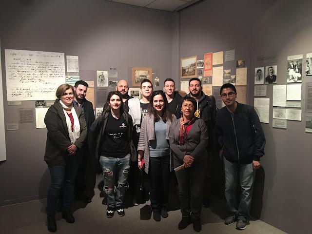 Επίσκεψη στο Μουσείο Ποντιακού Ελληνισμού της Επιτροπής Ποντιακών Μελετών για την ΕΠΟΝΑ