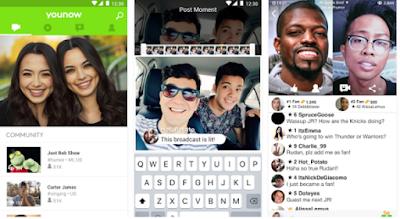 Aplikasi Live Broadcast Atau Streaming Cewek Cantik dan Cowok Ganteng di Android Terbaik