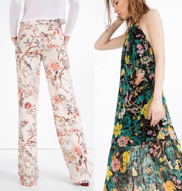 Catalogo Zara  Primavera verano 2017 vestido