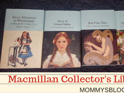 Introduce Your Children to the Classics with Macmillan Collector's Library Book Set #Giveaway #MBPHGG18