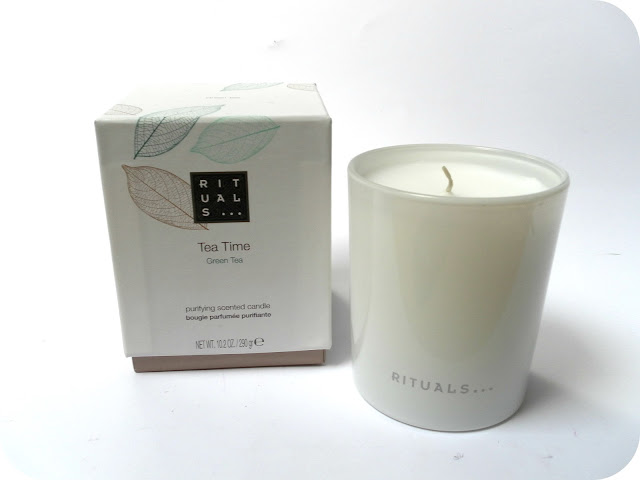 A picture of Rituals Tea Time Green Tea Candle