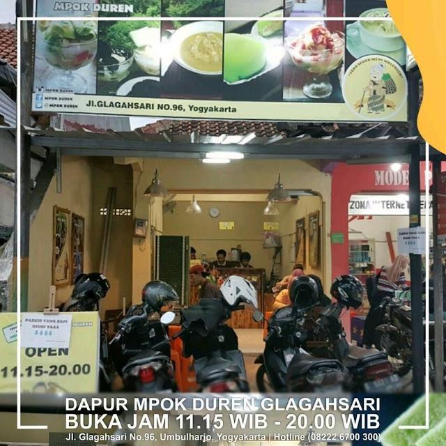 Outlet Dapur Mpok Duren Glagahsari