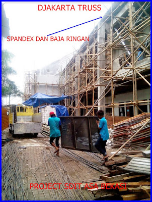 Proyek Spandek dan Baja Ringan SDIT ASA Djakarta Truss