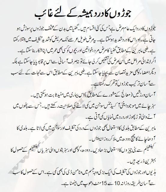 arthritis ka ilaj in urdu