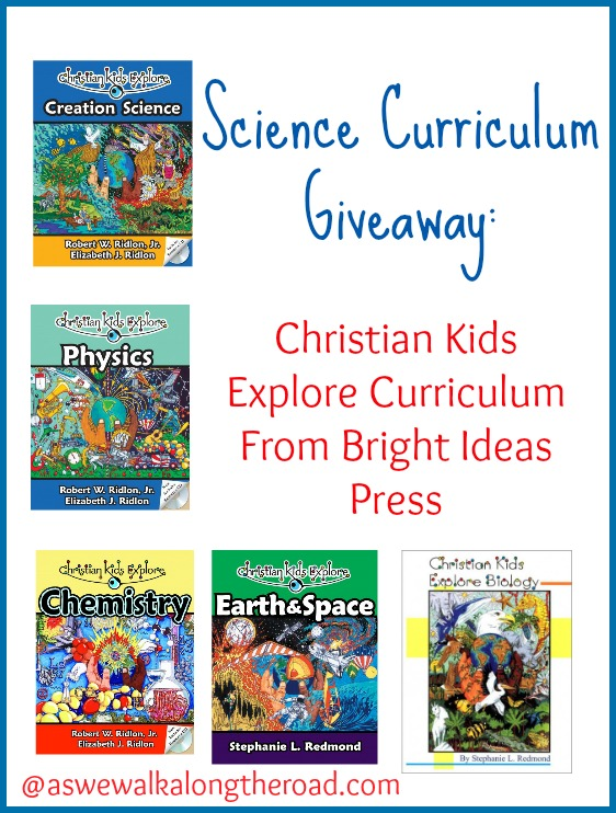 Science curriculum giveaway