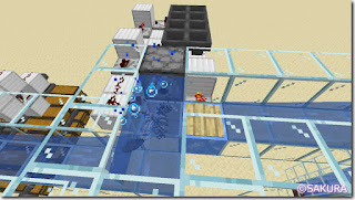 マインクラフト 水流を使った自動仕分け機 ディスペンサー