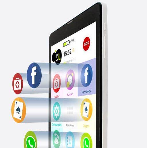 ObaTablet - O Tablet para Idosos desenvolvido para a terceira idade