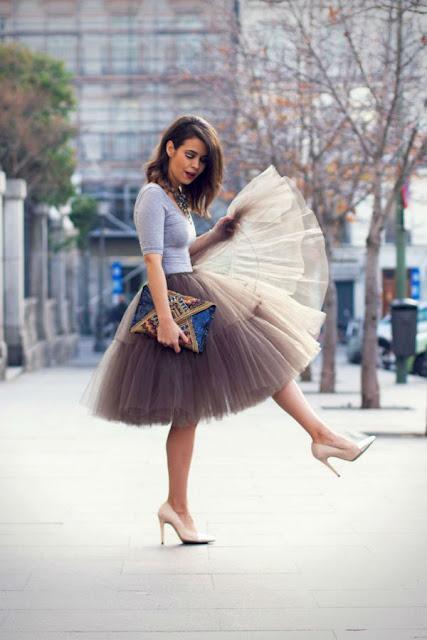 falda de tul corte ingles