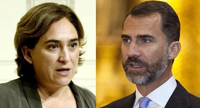 """Ada Colau: """"el rey Felipe VI refleja una falta de empatía bestial"""""""