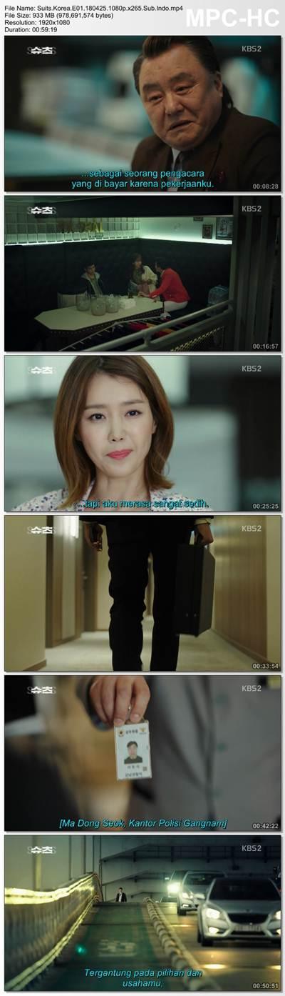 Screenshots  Full Movie Drama Korea Suits aka Shucheu aka 슈츠 (2018) Episode 01 1080p MP4 Subtitle Indonesia Google Drive