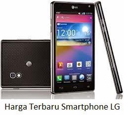 Daftar Harga Terbaru Smartphone LG