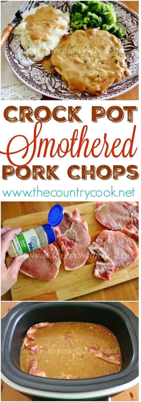 Crock Pot Pork Chops With Gravy
