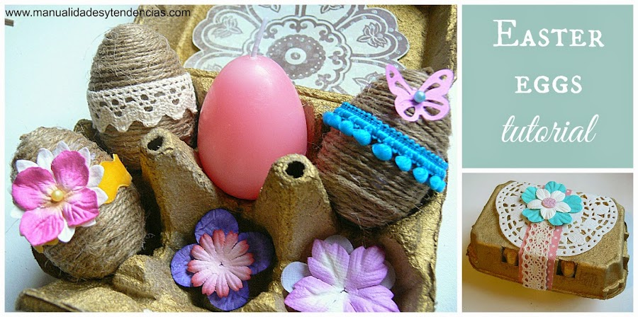 Easter egg decoration tutorial