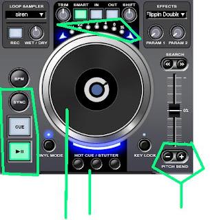 Cara mudah naikin bpm lagu menggunakan Virtual DJ