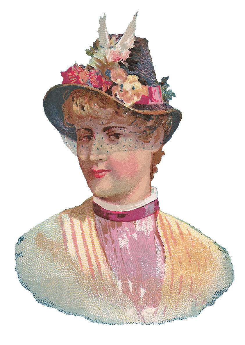vintage hat clipart - photo #43