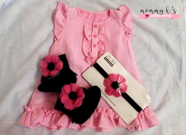 Zuri Baby Couture dress set