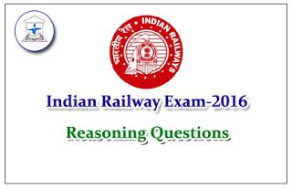 Railway Exam Reasoning –Coding Decoding