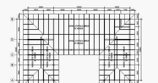 Tebal Reng Baja Ringan Pengerjaan Atap | Simpati Furniture
