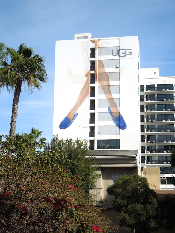 Giant UGG Classic Cool billboard