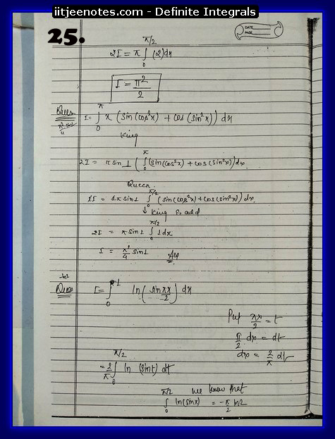 definite integrals notes4