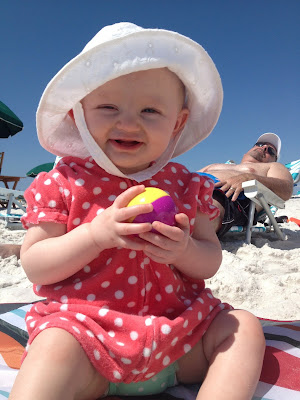 Tips for taking babies to the beach