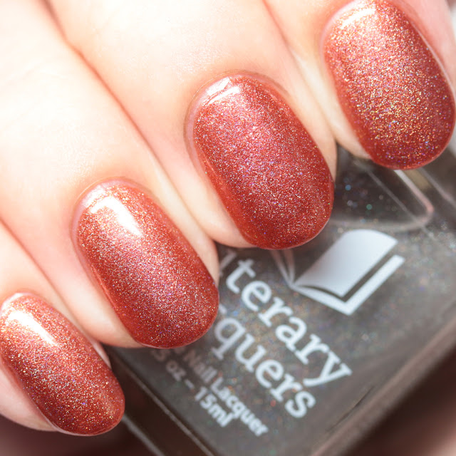 Literary Lacquers Love over Afterglow