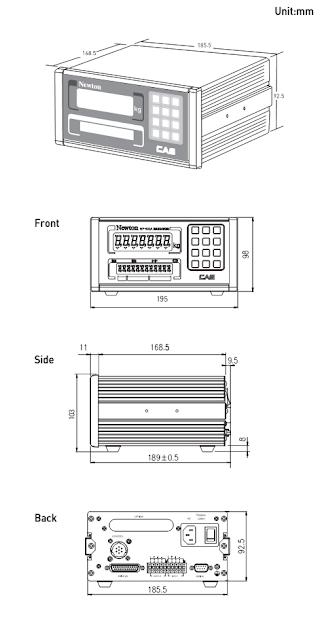 Đầu cân NT-502A