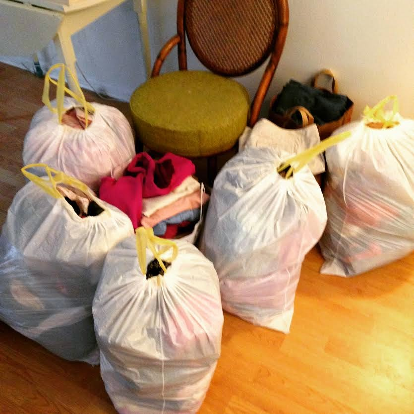 "Marie Kondo's revolutionary technique, (the KonMari Method) is basically that we should get rid of 50-75% of what we own, and only keep the things that ""spark joy.""  The KonMari Method is, apparently, super popular in Japan"