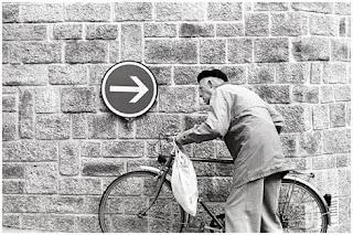Bapak Tua dan Sepeda Onthelnya