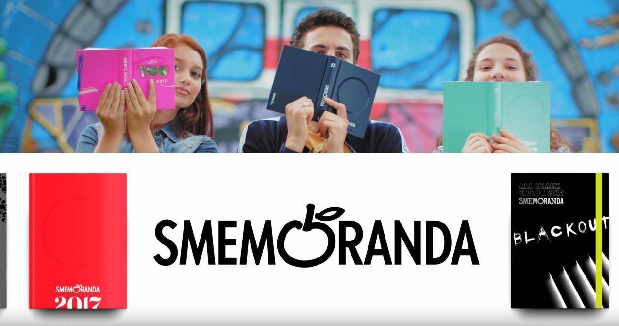Canzone Pubblicità Smemoranda diario agenda 2017