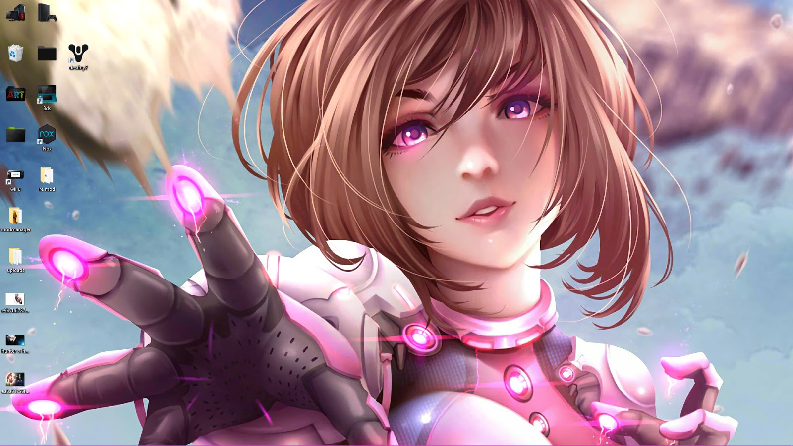 anime girl Ochako Uraraka live wallpaper free download ...