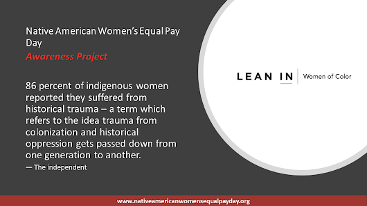 Stats: Violence Against Native American Women - Native American Women's Equal Pay Day