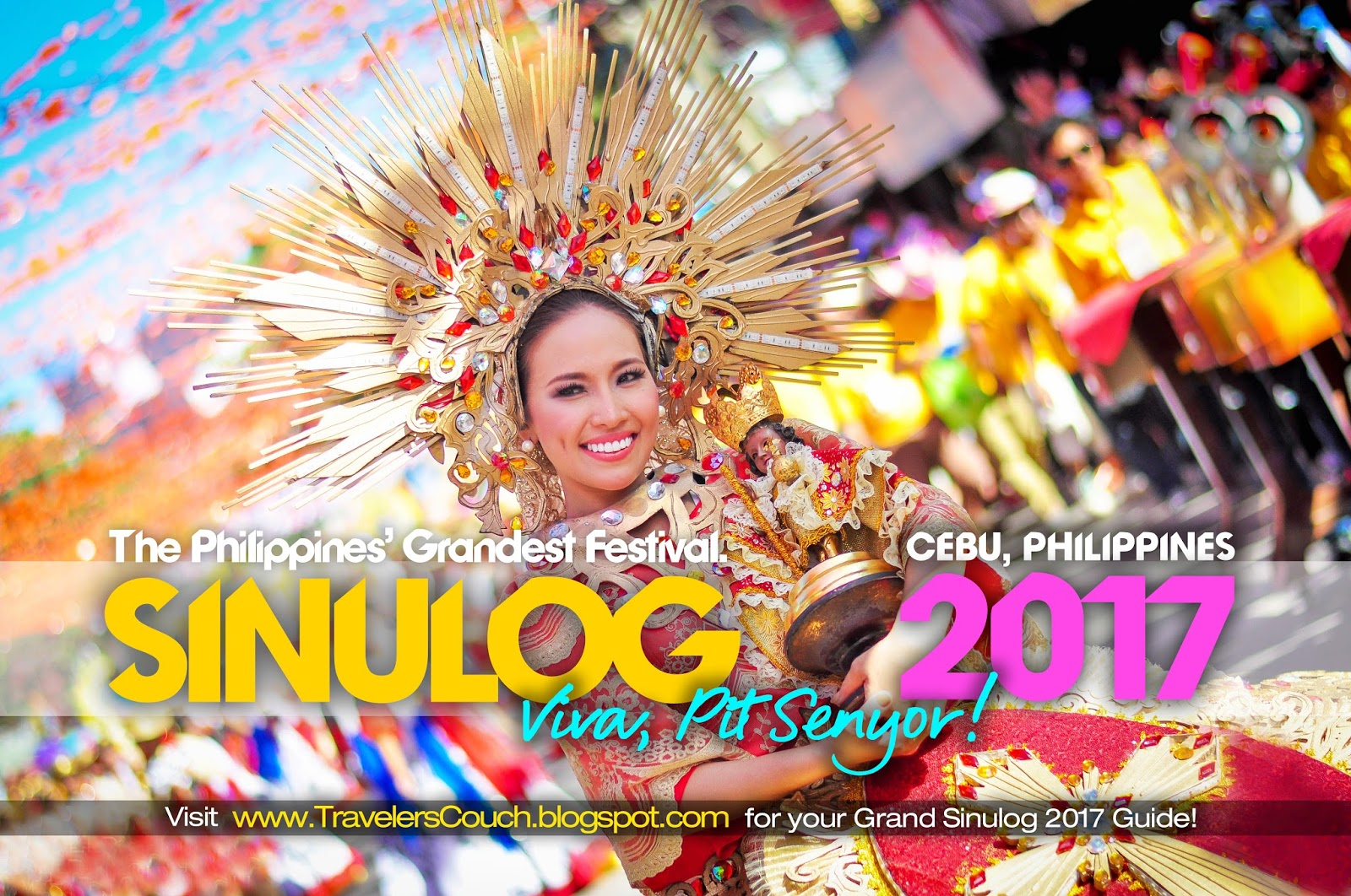 the GRANDEST FESTIVAL in the PHILIPPINES  The Cebu Sinulog Festival