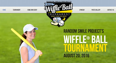 Random Smile Project's fourth annual Wiffle ball tournament