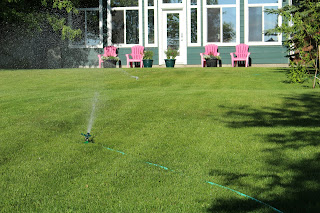 Summer Irrigation and Sprinkler Advice