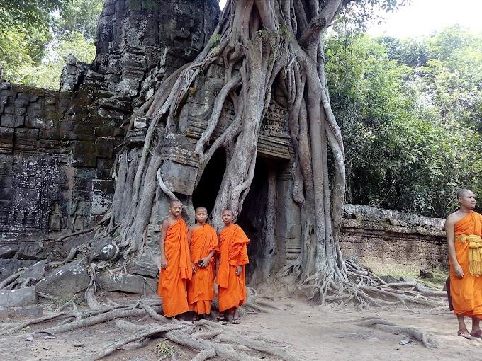 Le grand circuit d'Angkor