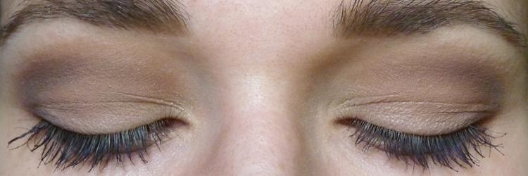 Make-Up-Look für Schlupflider
