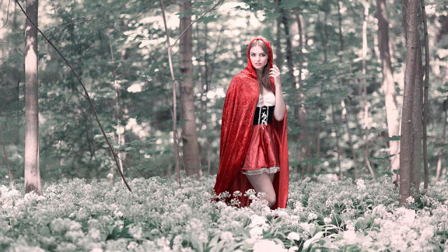 cosplay de Red Riding Hood