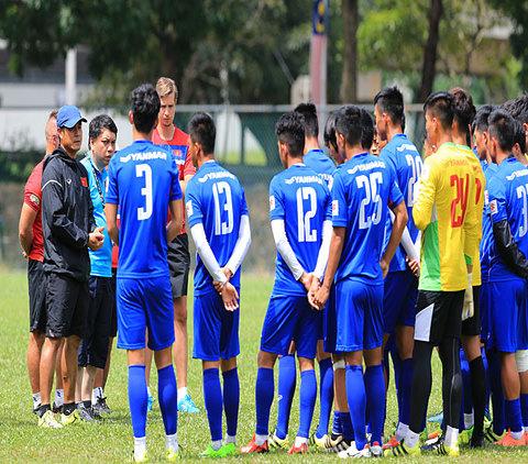 Hồng Duy và đồng đội sẽ cố gắng hết sức để mang lại kết quả tốt cho đội tuyển