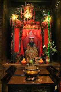 Chinese ancient physician Hua Tuo, Tin Hau Temple, Aberdeen, Hong Kong