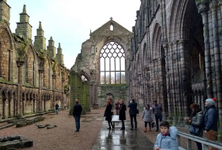 Interior de la Abadía Holyrood.