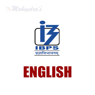 English Language For IBPS PO Mains & Clerk | 23 - 11 - 17
