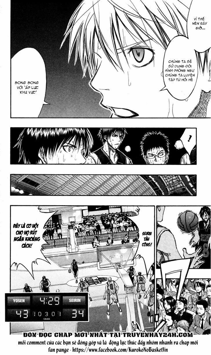 Kuroko No Basket chap 159 trang 10