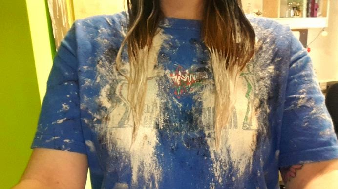 This Is The Second Step Of Ombre Hair As You Can See I Have Only Put Blonde Right On Very Ends My Quite Liked