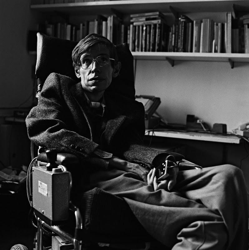Stephen Hawking khi là Giáo sư tại Đại học Cambridge vào năm 1985. Hình ảnh: Gemma Levine/Getty Images.