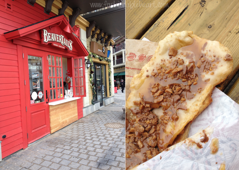 blue mountain village ontario canada travel food beavertails